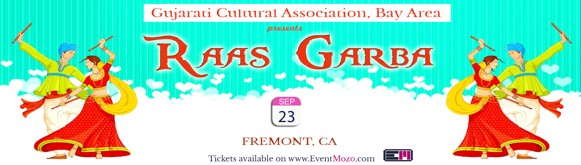 EventMozo GCA Bay Area Raas Garba 2017