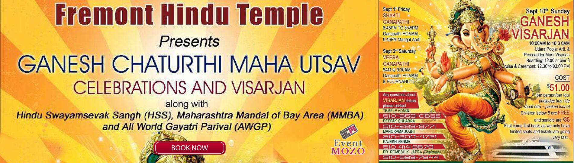 EventMozo Ganesh Chaturthi Maha Utsav  Celebrations and Visarjan 2017