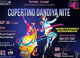 Cupertino Dandiya Nite - Sep 30th