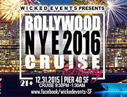 NYE 2016 BOLLYWOOD CRUISE CARNIVAL