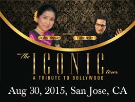Iconic Tour: Asha Bhosle Live in Concert with Talat Aziz, Bay Area
