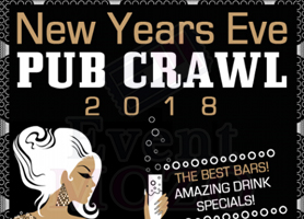 eventmozo SAN FRANCISCO NEW YEAR'S EVE ALL ACCESS PUB CRAWL 2018