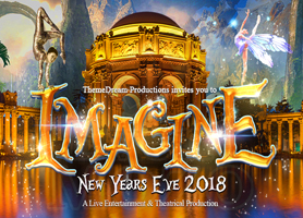 EventMozo IMAGINE: New Year's Eve 2018 @ Palace of Fine...