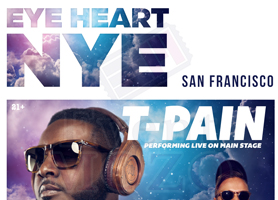 EventMozo EYE HEART NEW YEAR'S EVE: T-PAIN, PARTY FAVOR...