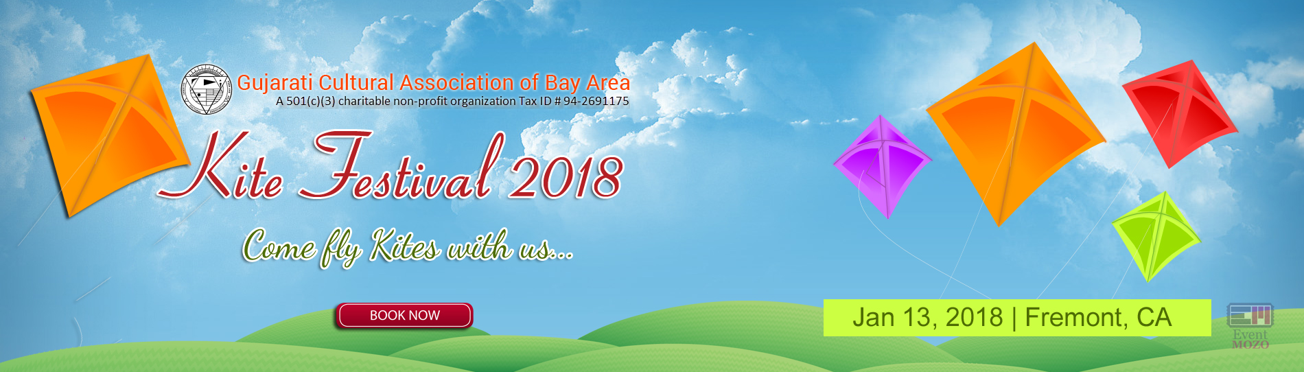 EventMozo GCA Bay Area Kite Festival 2018