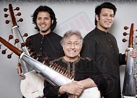 Ustad Amjad Ali Khan, Amaan & Ayaan Ali Bangash Live in Concert in Chicago