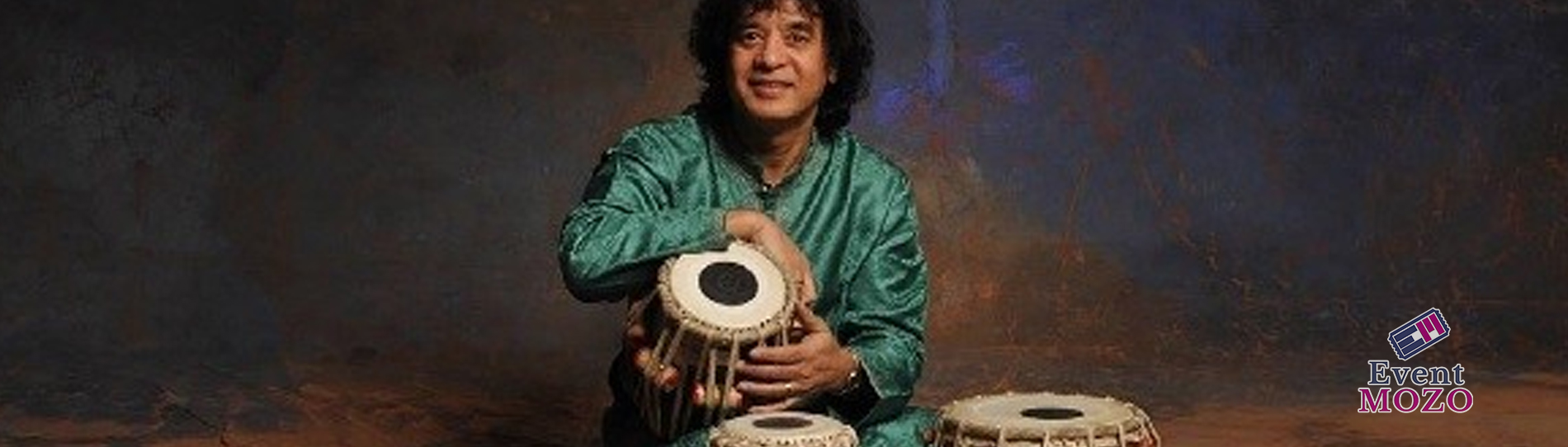 EventMozo Zakir Hussain, Tabla With Rakesh Chaurasia, Bansuri