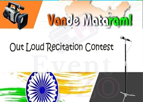 eventmozo Vande Mataram Out Loud Recitation Contest