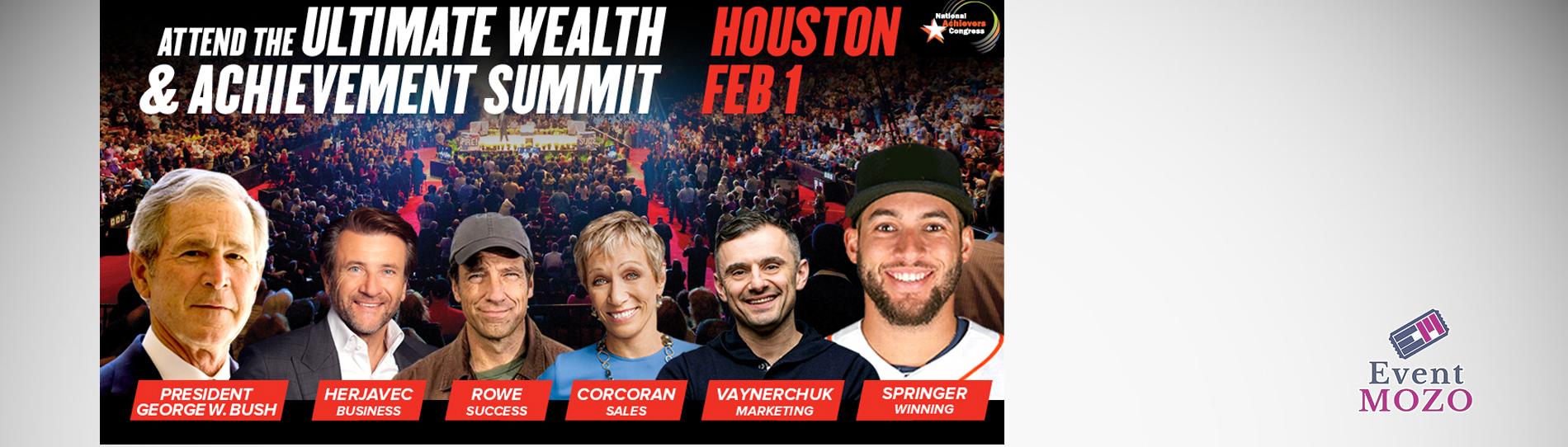 EventMozo Barbara Corcoran, Gary Vaynerchuk, Mike Rowe Live! Houston