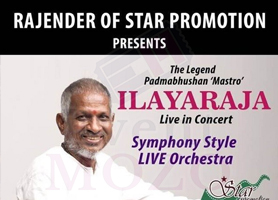 eventmozo Ilayaraja Live in Concert