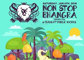 eventmozo Non Stop Bhangra 2018 Kick Off & New Year Celebration