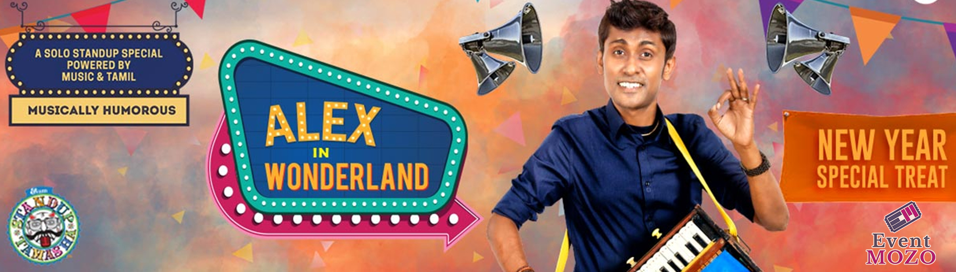 EventMozo Alex in Wonderland(Stand-up Comedy)- San Jose