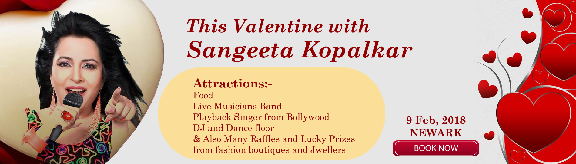 EventMozo Valentine Day with Sangeeta Kopalkar