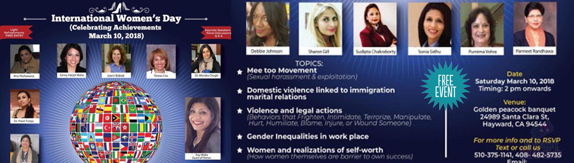 EventMozo International Women's day