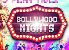 creationsbox Bollywood Nights Holi Hai - Let's Play Holi