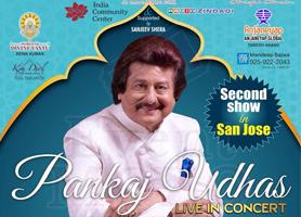 Pankaj Udhas Live In Concert San Jose - 2nd Show