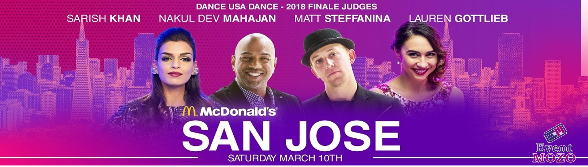 EventMozo Dance USA Dance 2018 - San Jose, CA