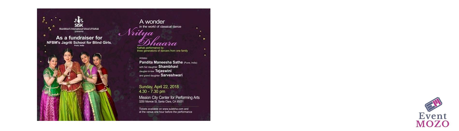 EventMozo Nritya Dhaara - Bay Area