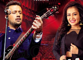 Atif Aslam and Neha Kakkar Live in Concert - Bay Area