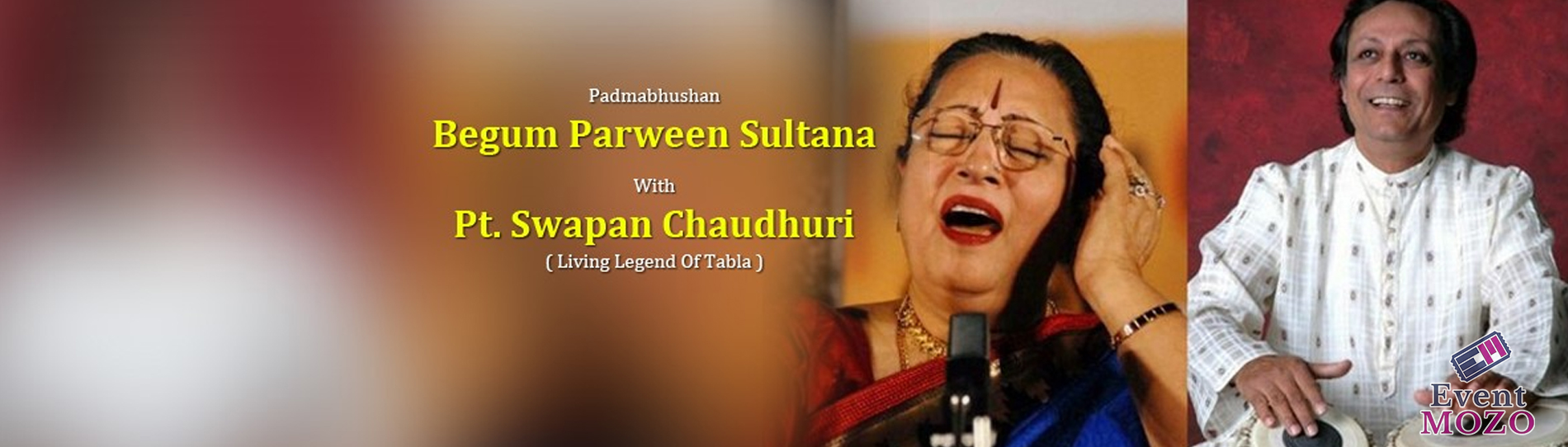 EventMozo Padmabhushan Begum Parween Sultana Live in Concert with Ma....