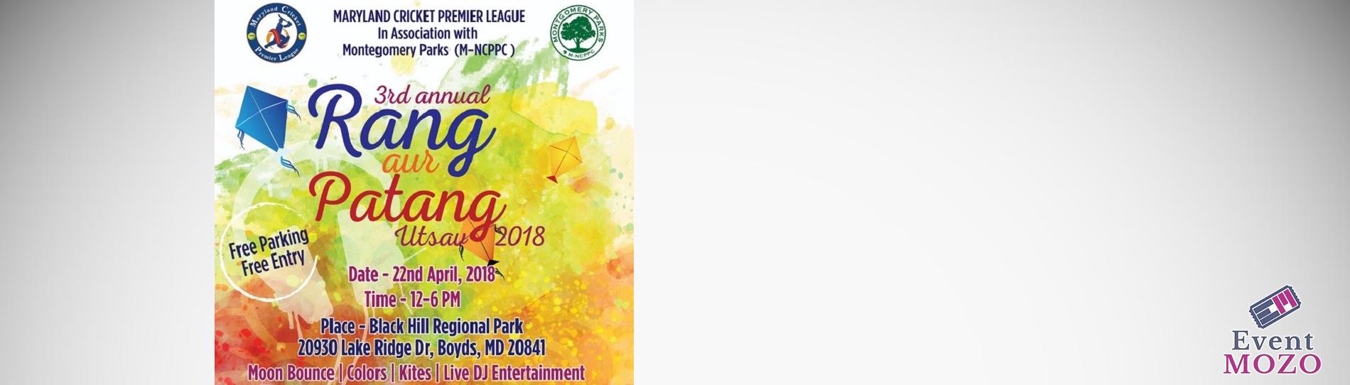 EventMozo 3rd Annual MCPL Rang Aur Patang Utsav 2018