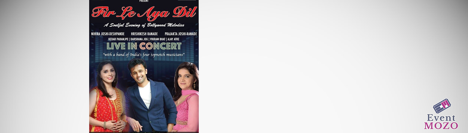 EventMozo Fir Le Aya Dil - Live in Concert
