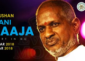 eventmozo ISAIGNANI Ilayaraja Concert in DC (Telugu & Tamil Show) - March 30 & March 31st