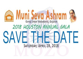 eventmozo MUNI SEVA HOUSTON ANNUAL GALA 2018