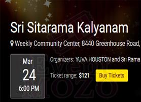 eventmozo Sri Sitarama Kalyanam