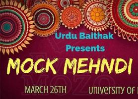EventMozo UH Mock Mehndi 2018