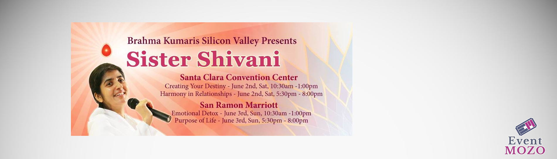 EventMozo Sister Shivani to Silicon Valley