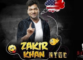 Zakir Khan Stand Up Comedy Live in Bay Area