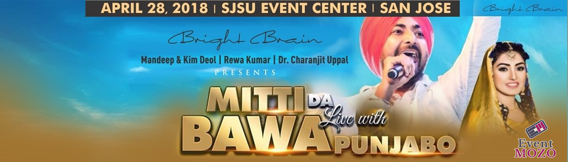 EventMozo Ranjit Bawa & Anmol Gagan Mann Live in Bay Area