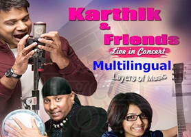 eventmozo Karthik and Friends Live Concert in San Jose