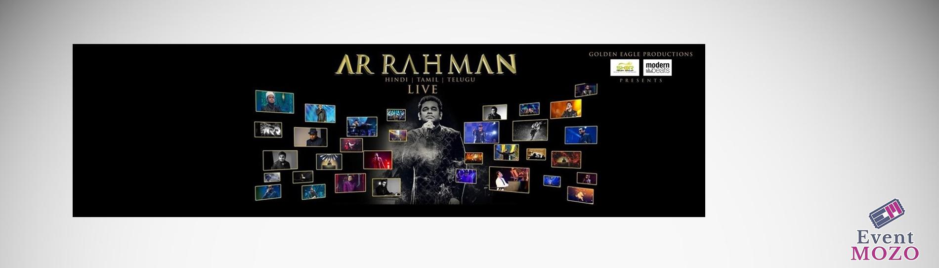 EventMozo AR Rahman and Troupe LIVE 2018 - 25 Glorious Years Of Musi....