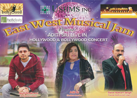 EventMozo East West Musical Jam Presents  Aditi Sri Hol...