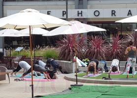 EventMozo FREE YOGA AT BAY STREET
