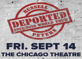 EventMozo Russell Peters: The Deported World Tour