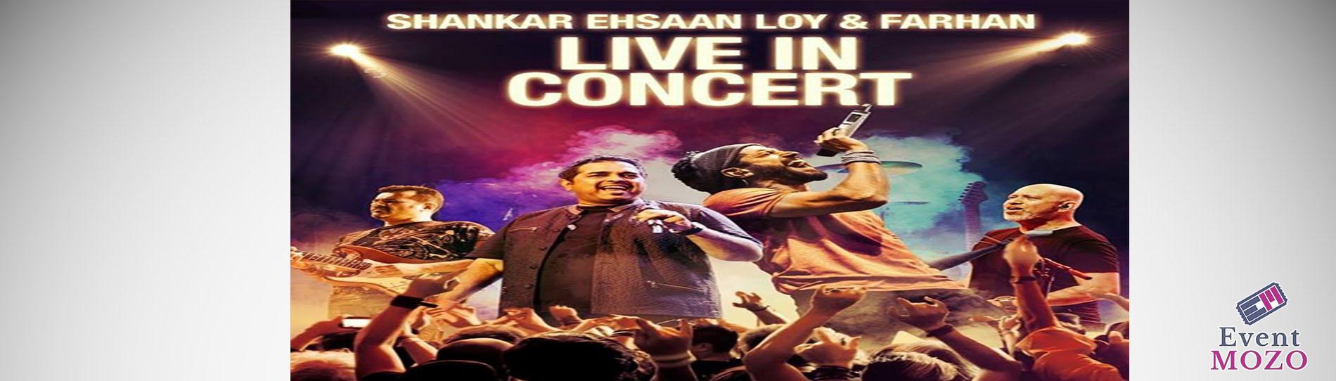 EventMozo Shankar Ehsaan Loy Farhan Akhtar live in concert
