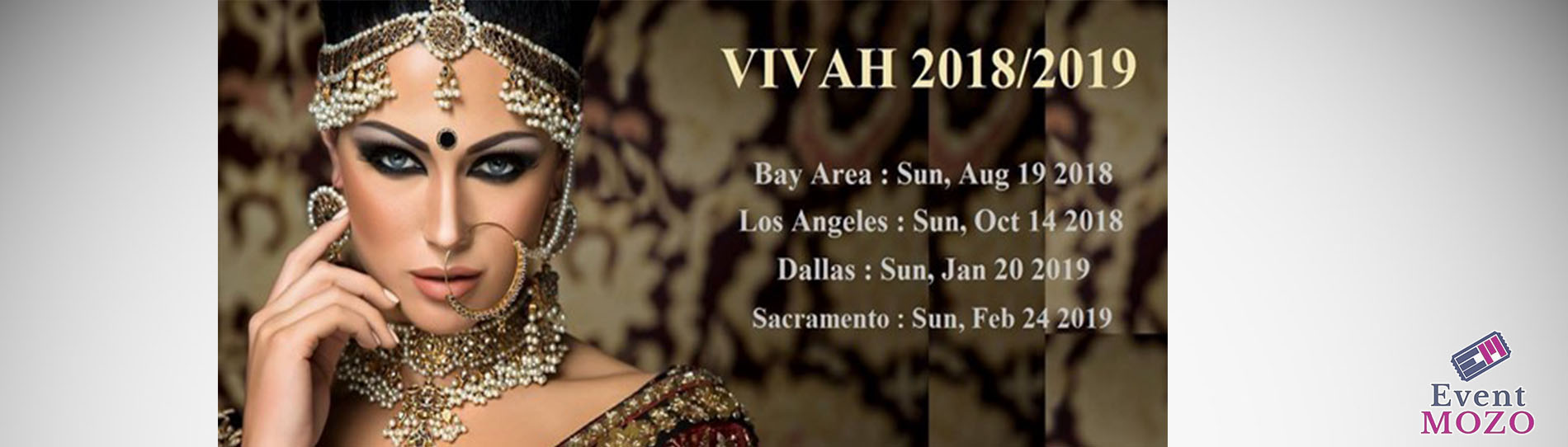 EventMozo Vivah 2018 Bridal Expo Los Angeles