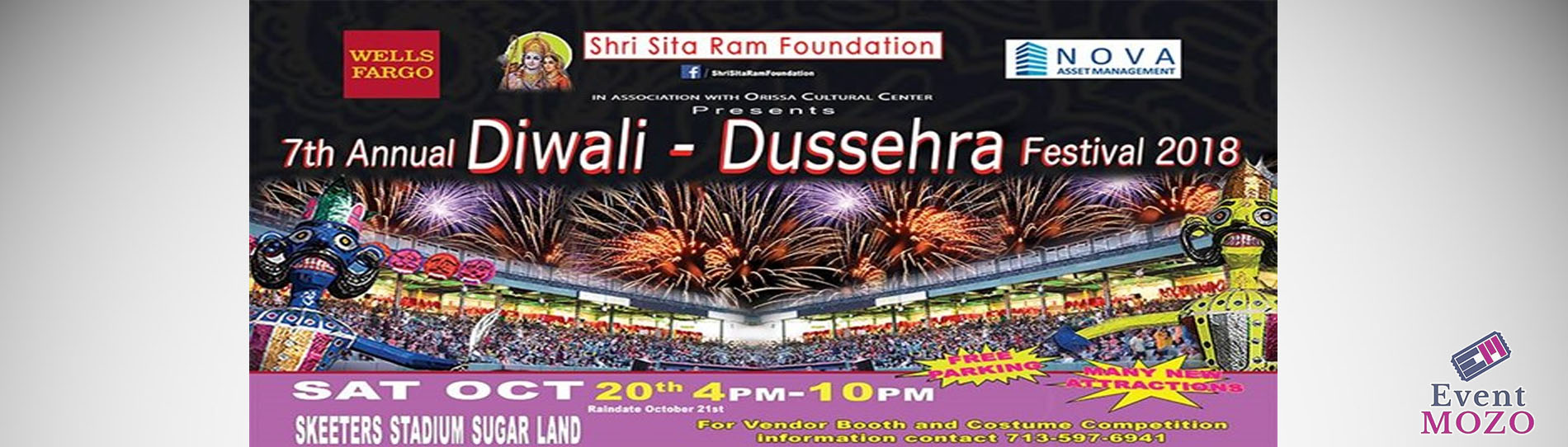 EventMozo 7th Annual Diwali - Dussehra Festival 2018