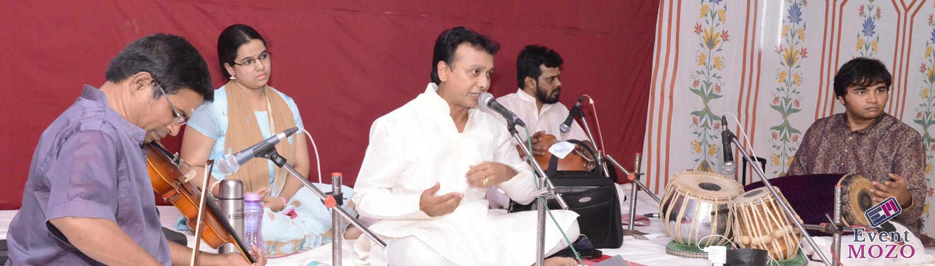 EventMozo Unnikrishnan Concert - Satuday, Aug 11 at Shiva Vishnu Tem....