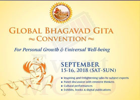 EventMozo 2018 Global Bhagavad Gita Convention