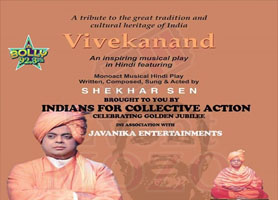 eventmozo Indians for Collective Action Brings Vivekanand