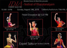 eventmozo IDIA: I DANCE hence I AM - a festival of Bhar...
