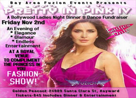 eventmozo Pretty In Pink IV-A Bollywood Ladies Night: D...