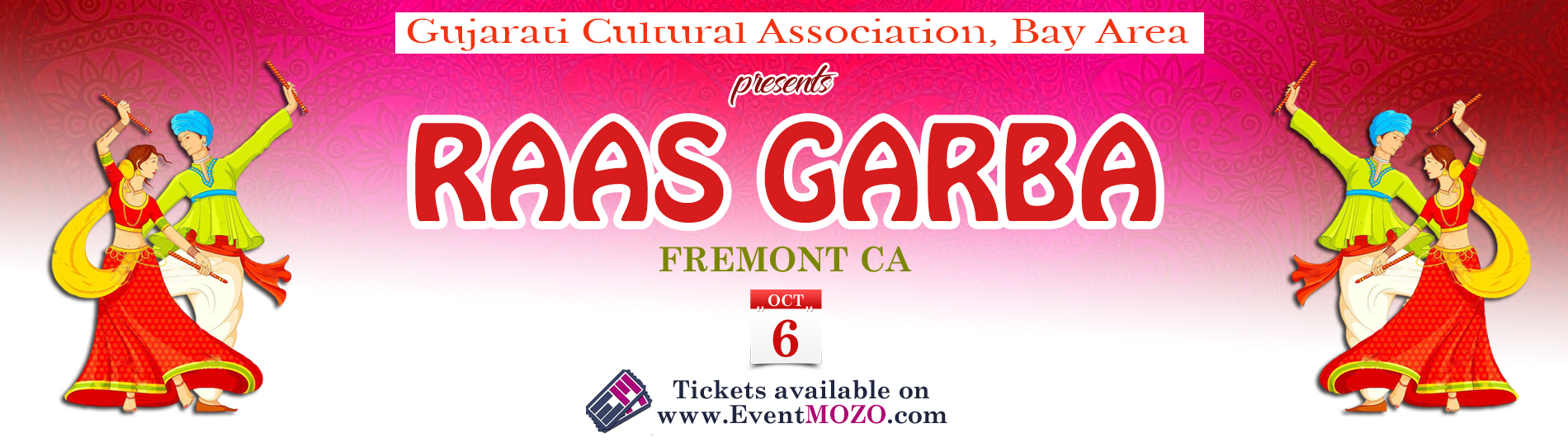 EventMozo GCA Bay Area Raas Garba 2018