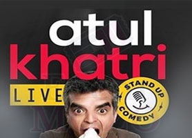 eventmozo Atul Khatri Stan Up Comedy Live 2018 in Houst...