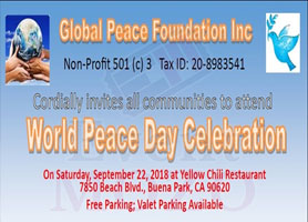 EventMozo World Peace Day Celebration