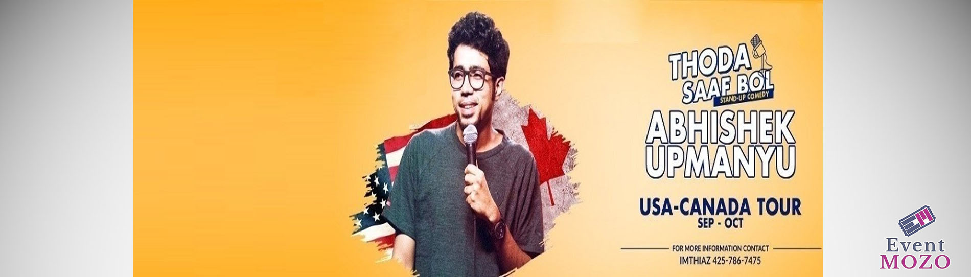 EventMozo Abhishek Upmanyu Standup Comedy Live in Chicago 2018